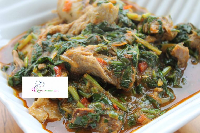 HOW TO COOK EFO RIRO
