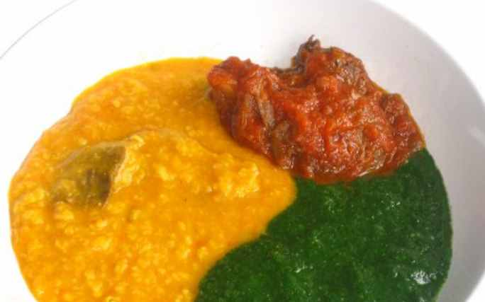 HOW TO MAKE GBEGIRI SOUP