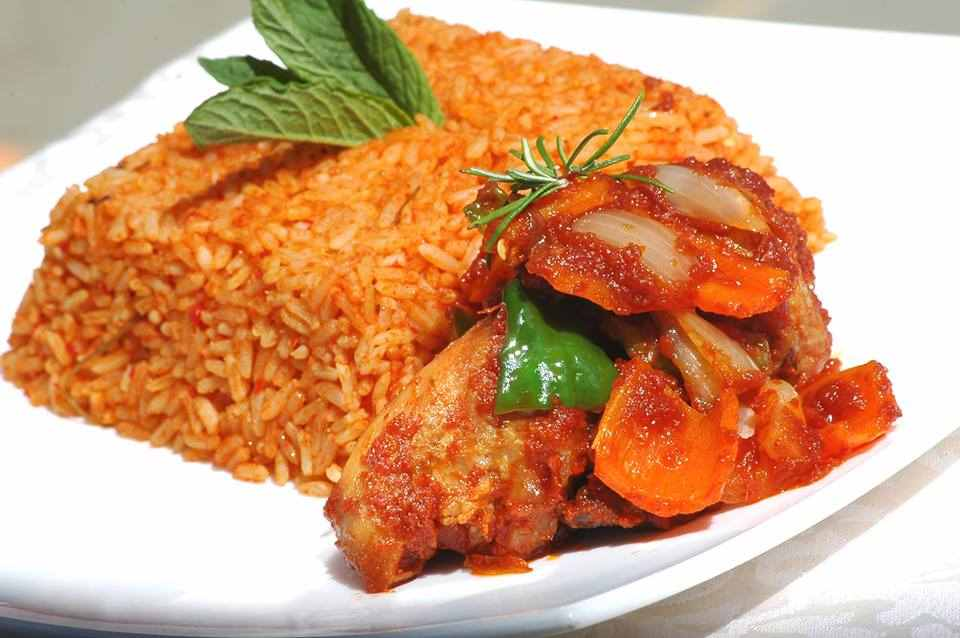 HOW TO COOK Party Jollof Rice