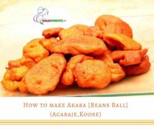 How to make Akara