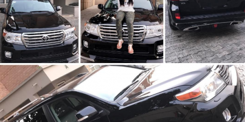 Tonto Dikeh's Husband's P.A New Car
