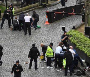 Terror attack In central London
