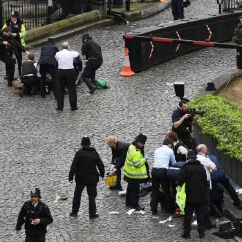 Terror attack In central London