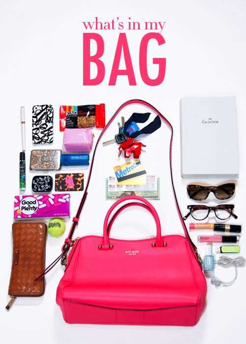 Things Every Woman Should Always Have In Her Purse