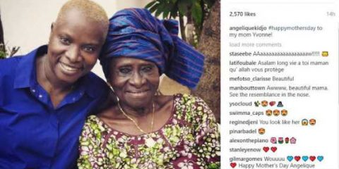 Angelique Kidjo 90-year-old mother