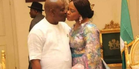 Photo Justice Eberechi Suzzette - Gov Wike'swife - celebrate her birthday at the Government House
