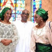 Dolapo Osinbajo, members of the family at 30th Thanksgiving Remembrance Service of her grandpa, Chief Obafemi Awolowo