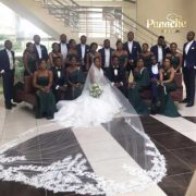Pictures from Mike Awoyinfa's son wedding in Abuja