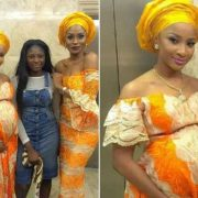 Pregnancy suits Adesua Etomi (photo)