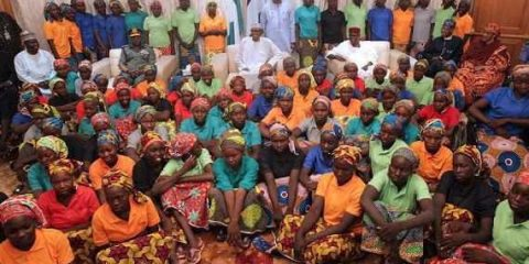 82 Chibok school girls released by Boko Haram