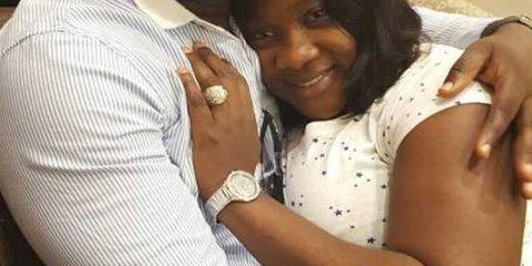 Mercy Johnson celebrates her husband