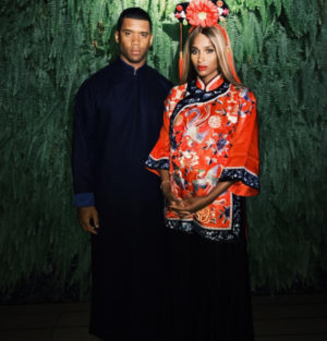 Ciara and husband on China holiday