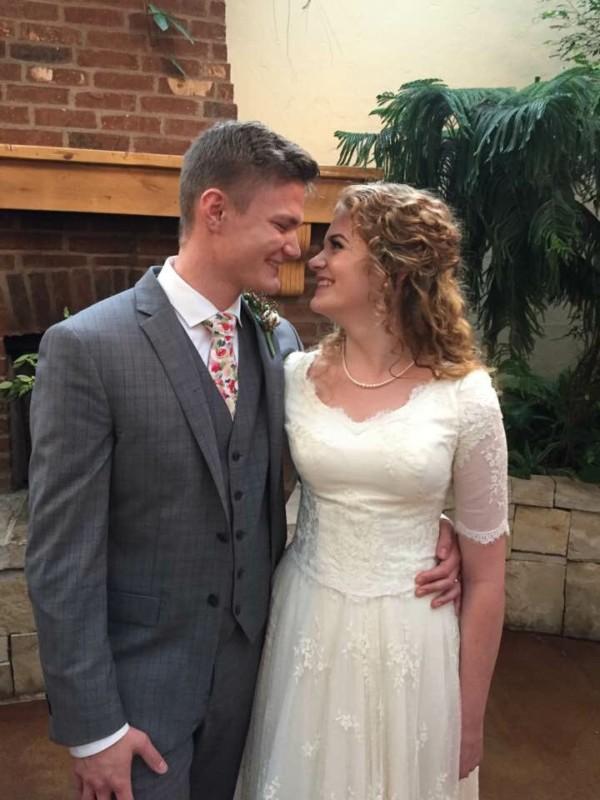 Zoe Calcote wedding