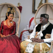 traditional wedding of Donald Duke's daughter