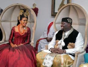 traditional wedding of Donald Duke's daughter