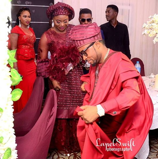 Nigerian Wedding Food: Photos From Actor Gbenga Highlander's Traditional Wedding