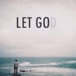 Letting go and letting God in relationships.