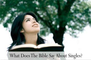 Scriptures for Singles