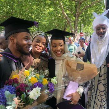 Emir of Kano's son graduates