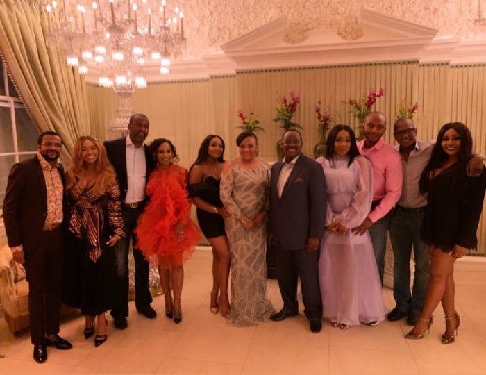 Pre-graduation dinner Photos of ex-Oyo state governor, Abiola Ajimobi's daughter