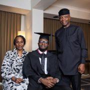 Yemi Osinbajo's son graduates