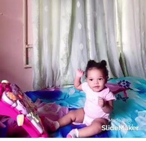 Adorable photos of Queen Nwokoye daughter as she turns 1