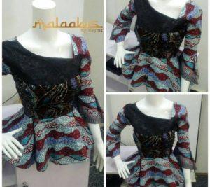 Latest Ankara Styles Peplum Tops