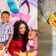 Juliet Ibrahim's ex-husband Kwadwo Safo Jnr welcomes his 3rd child with his partner Zainab Bonkano (Photos)