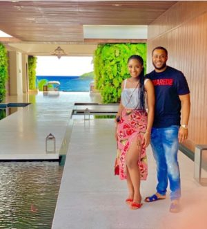 Two weeks after welcoming second child Powede Awujo shows off her post-baby body