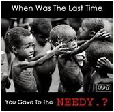 WHY GIVERS NEVER LACK