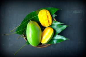 Health benefits of mango leaves.