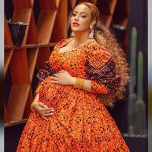Sarah Ofili shares maternity photo as she welcomes baby girl.