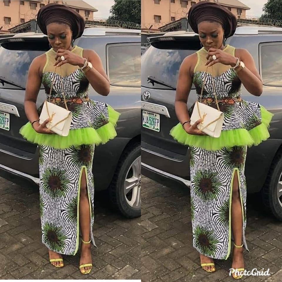 ankara skirt and top online