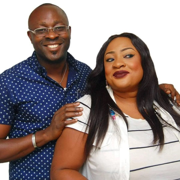 Foluke Daramola Salako suffers a miscarriage after reading fake news of her marriage crash