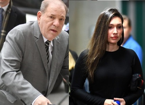 Here is the lady that claims Harvey Weinstein has no 'testicles and appears to have a Vagina'