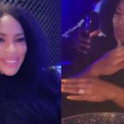 Nollywood actress Faithia Williams is engaged (video)