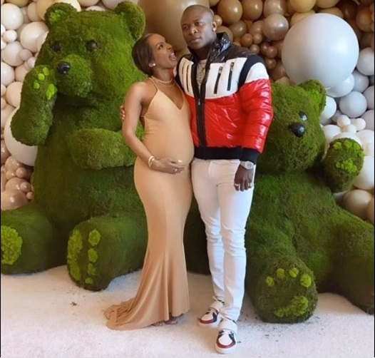 Pregnant Malika Haqq reveals O.T. Genasis is her baby's father as they celebrate together at their baby shower (Photos/Video)